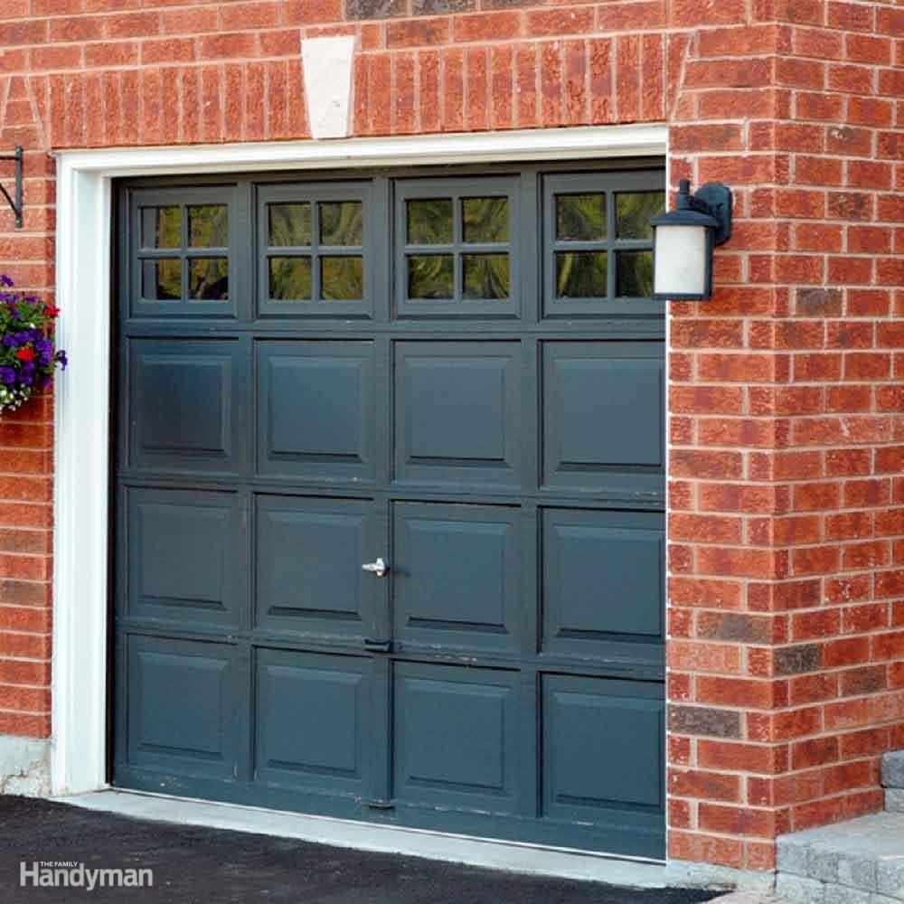 Garage Door and Driveway