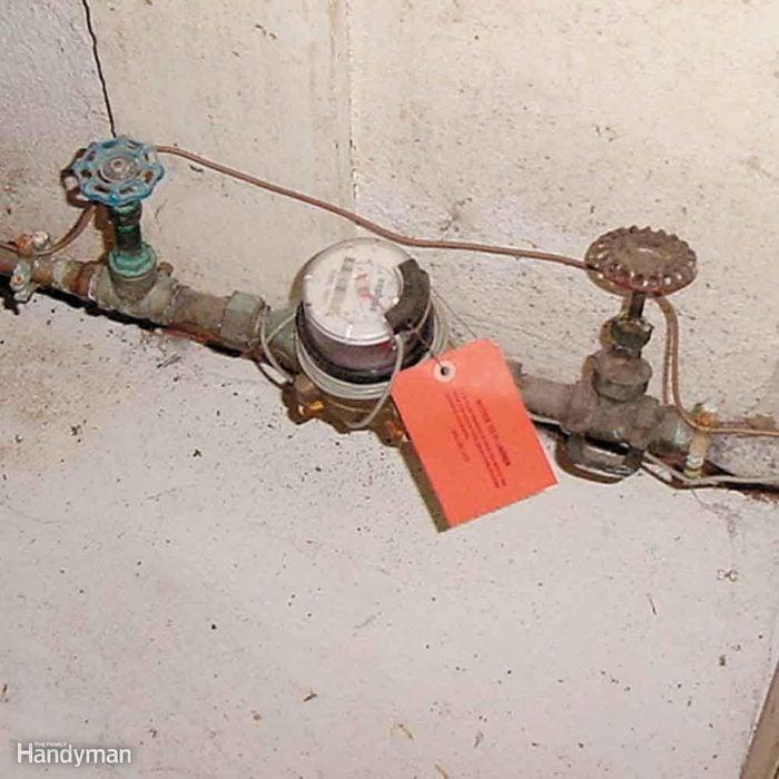 Locate Your Home's Main Water Shutoff Valve