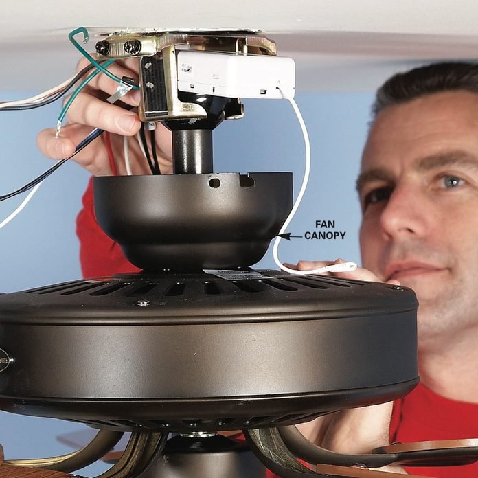 How To Install A Ceiling Fan Remote Diy Family Handyman