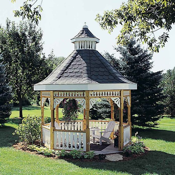 Charming Gazebo You Can Build Yourself