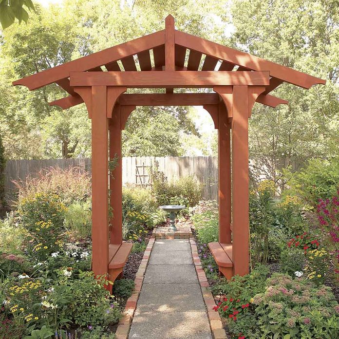 Add Interest with a Garden Arbor