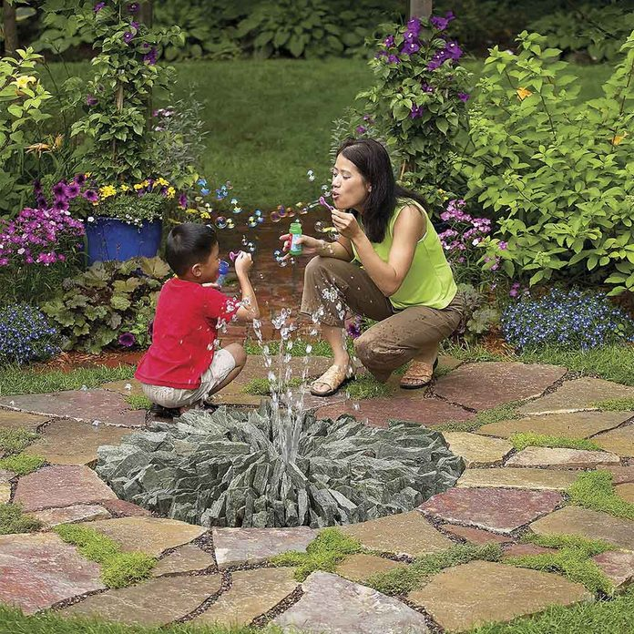 Stone Fountain Conversation Starter