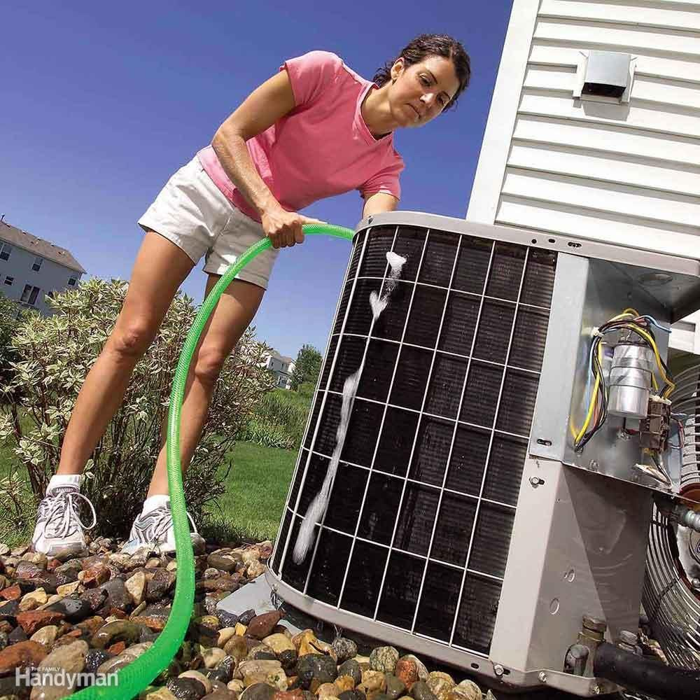 Clean your AC unit.