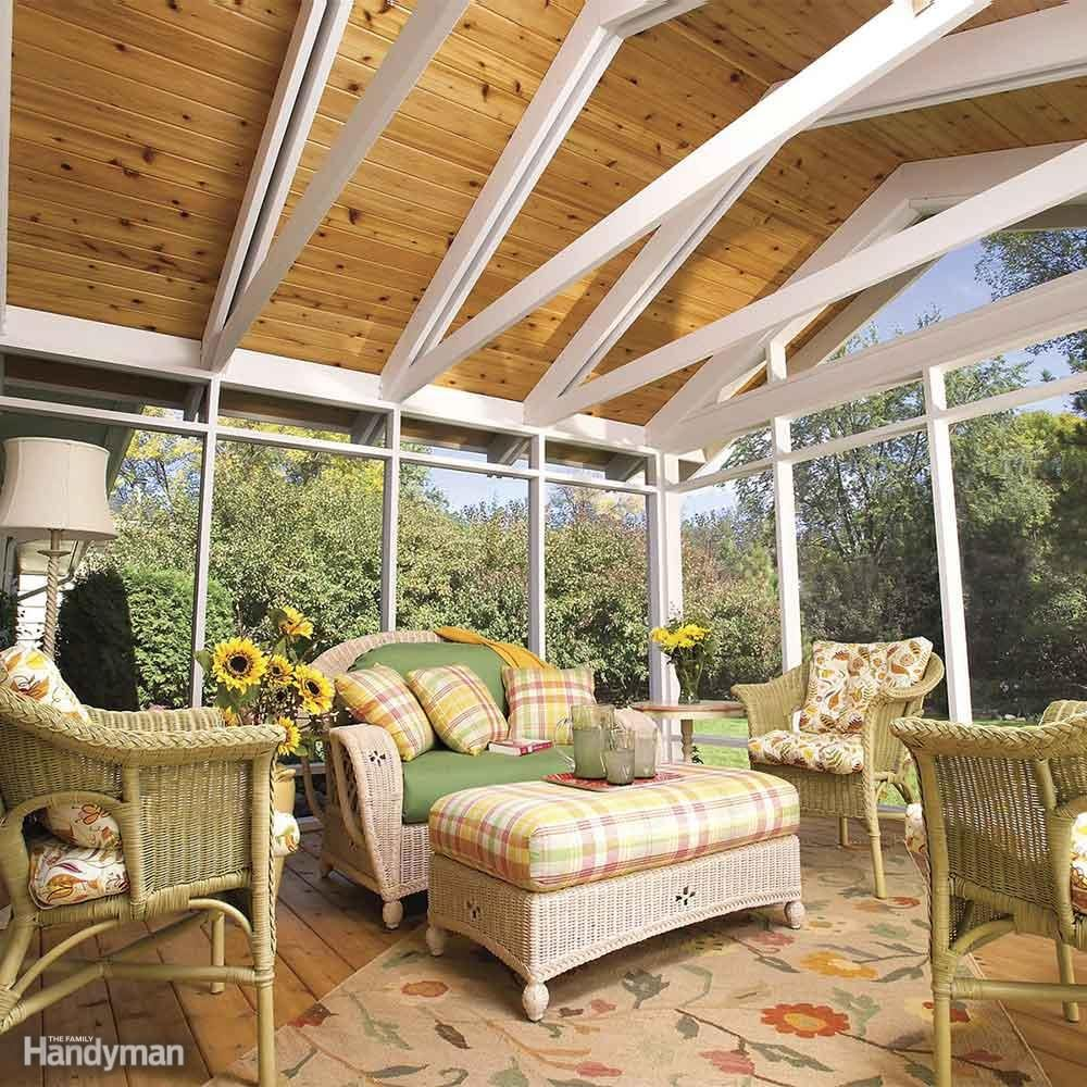 Install A Screened Porch