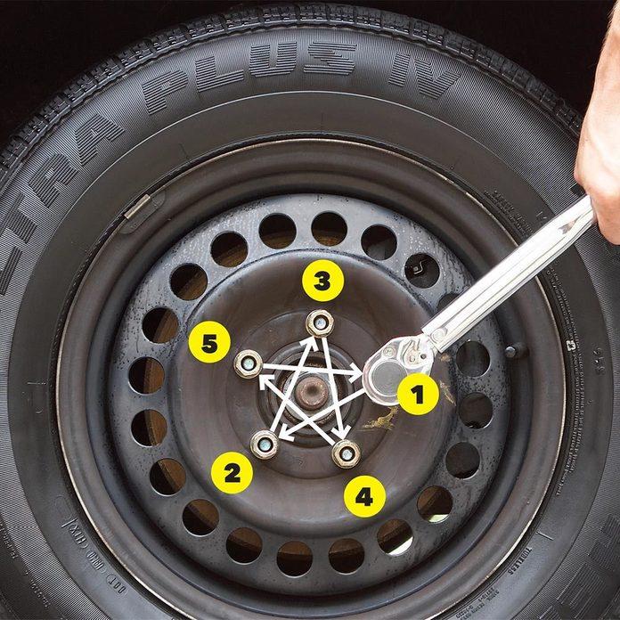 Proper way to torque lug nuts