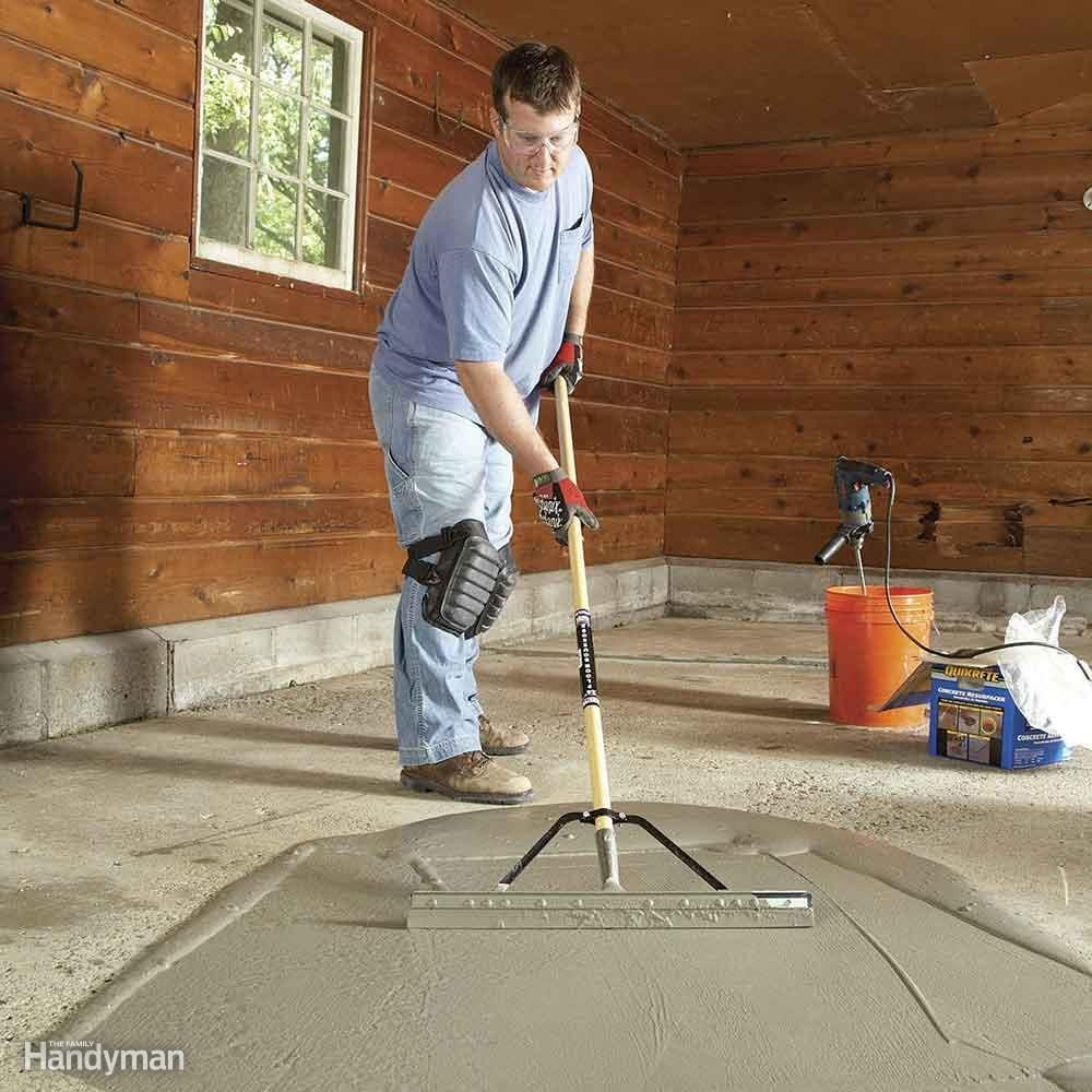 Resurface Garage Floor