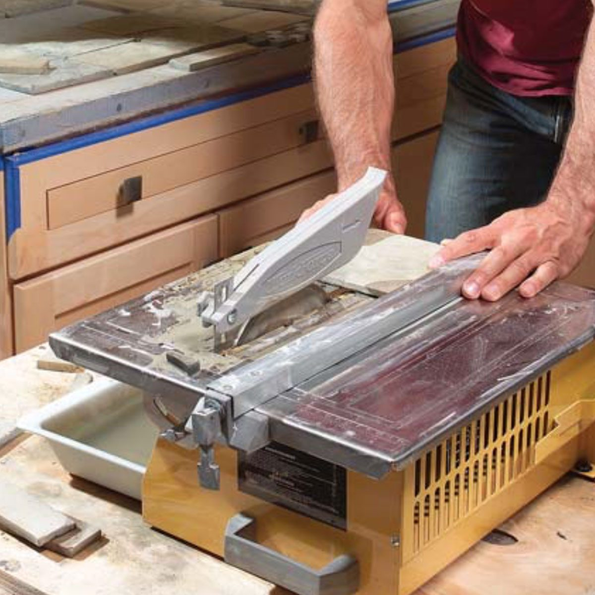 Kitchen Tile Countertops: Installing Tile Countertops: Ceramic Tile Kitchen