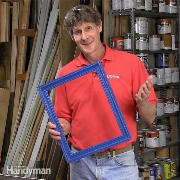 Diy Picture Frame With Mitered Corners The Family Handyman