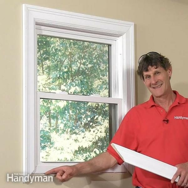 How To Trim Out A Window The Family Handyman