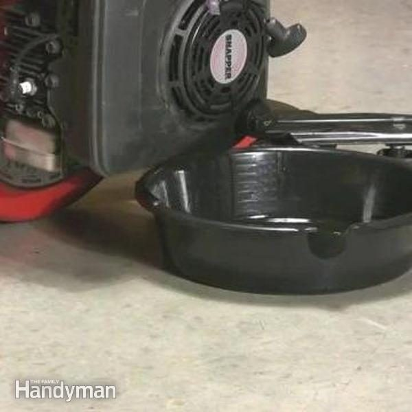 How To Change Oil For A Lawn Mower Family Handyman