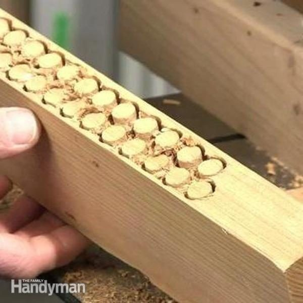 how to use sandpaper with laser cut wood