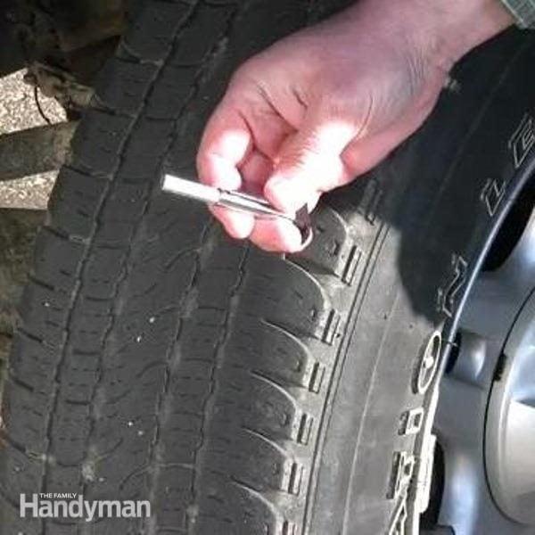 How To Measure Tire Tread The Family Handyman