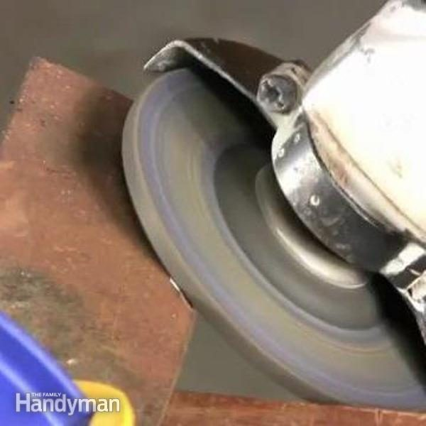 How To Sharpen A Lawn Mower Blade The Family Handyman