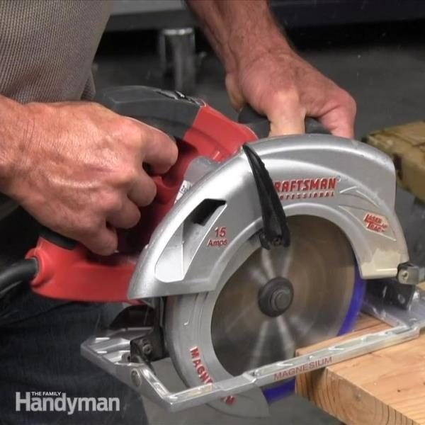 Circular Saw Safety Tips The Family Handyman