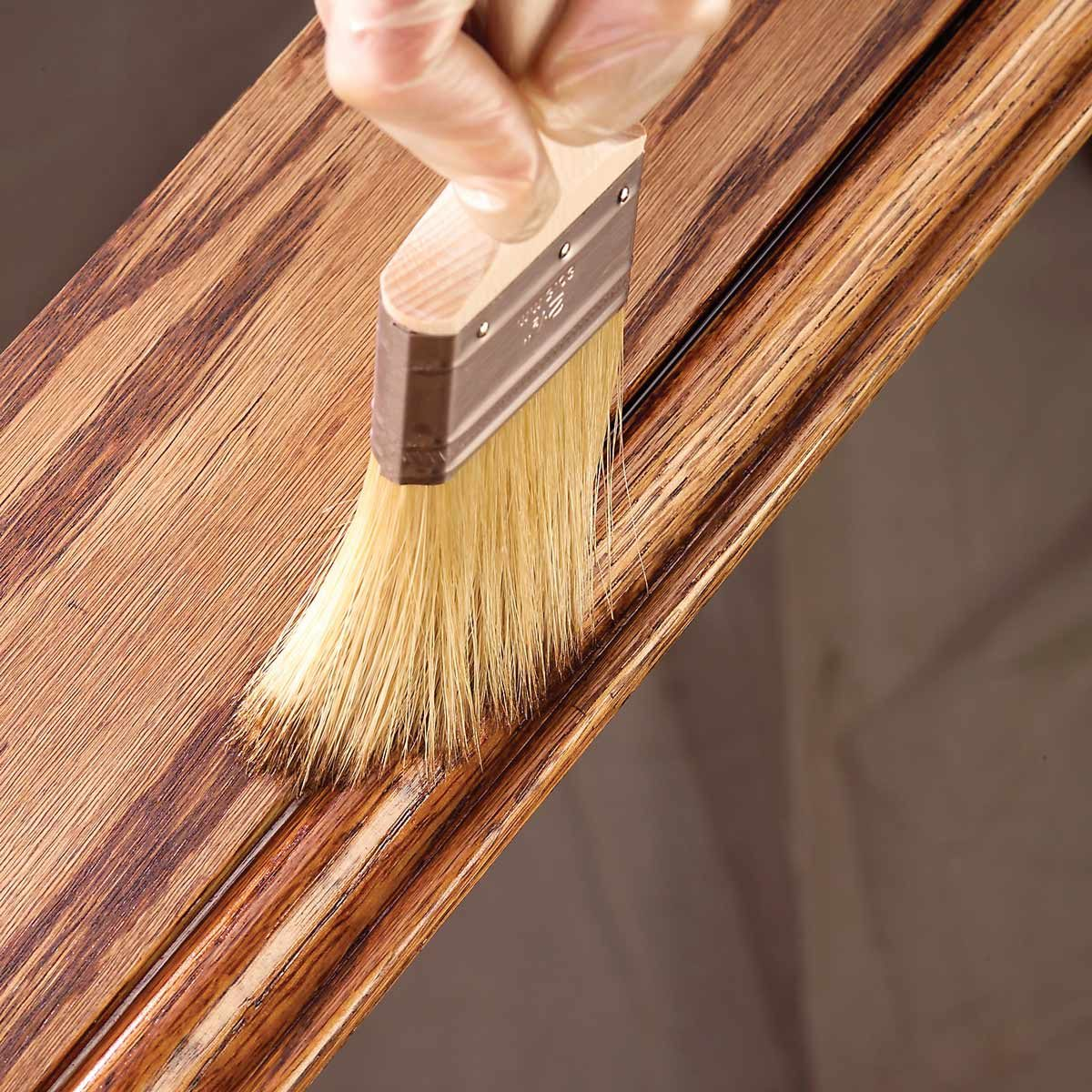 11 tips on how to finish wood trim the family handyman. Black Bedroom Furniture Sets. Home Design Ideas