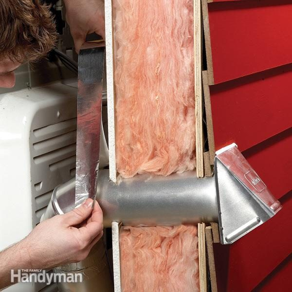 Quickly Replace A Broken Dryer Vent Cover The Family