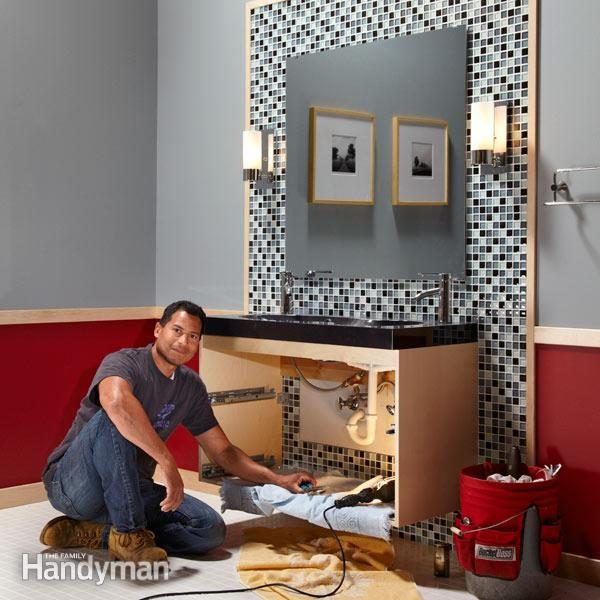 One Weekend Bathroom Remodel Family Handyman