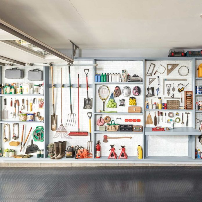 garage storage wall