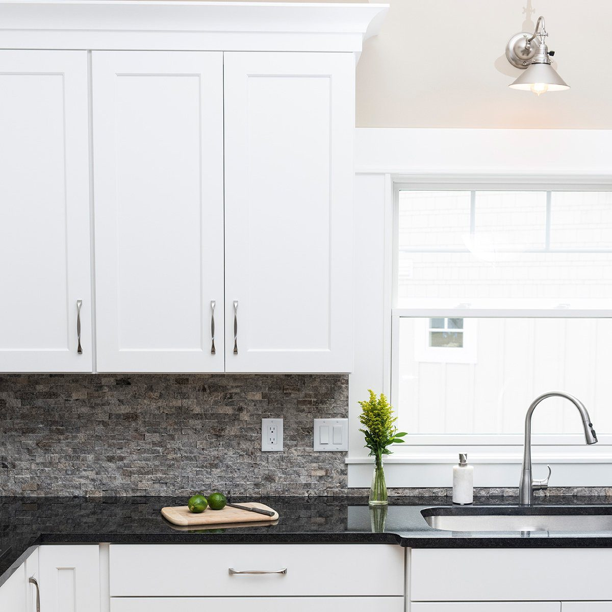 White Kitchen Cabinets With Silver Hardware Clear up the confusion when choosing cabihardware