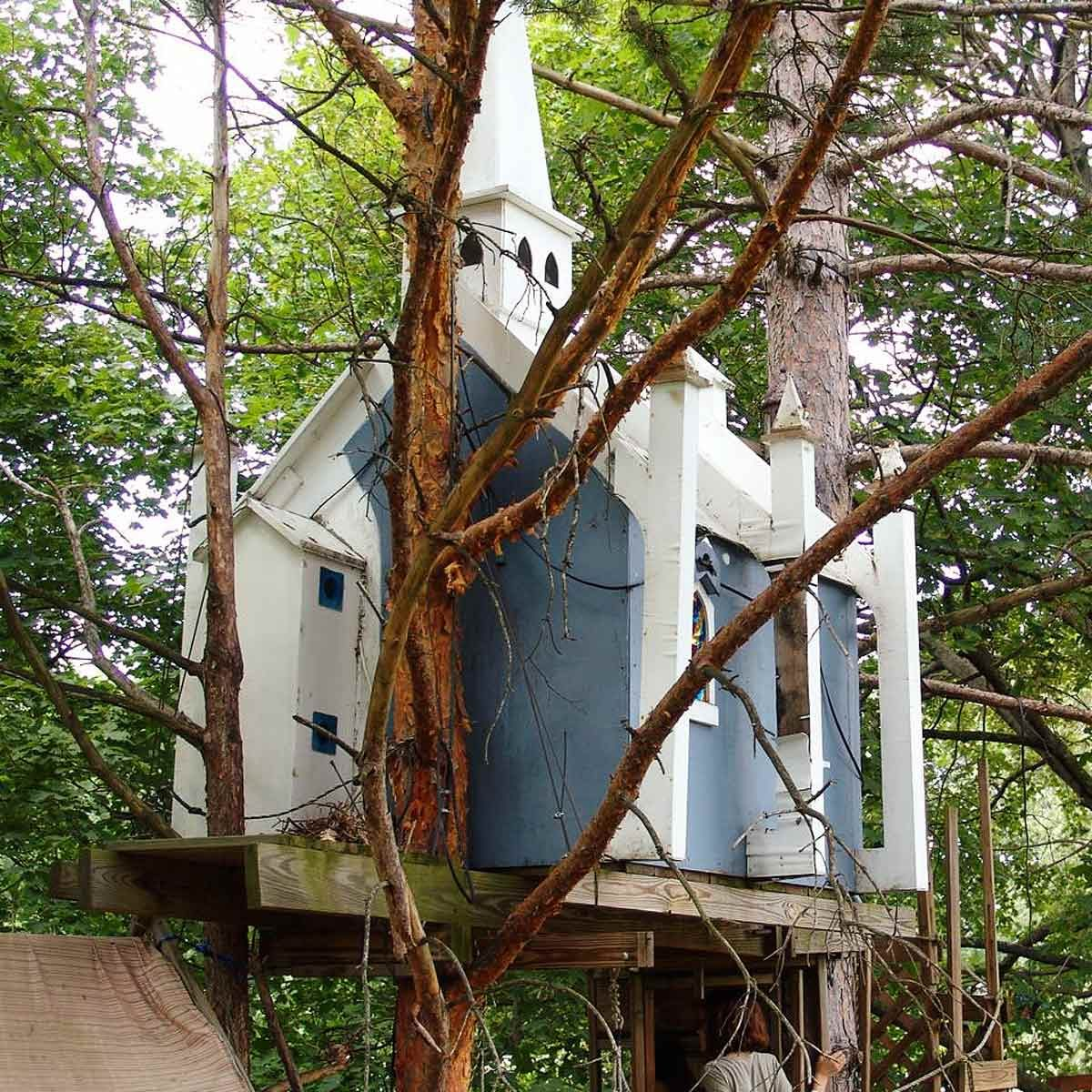 How To Build A Tree House Pro Tips Plans