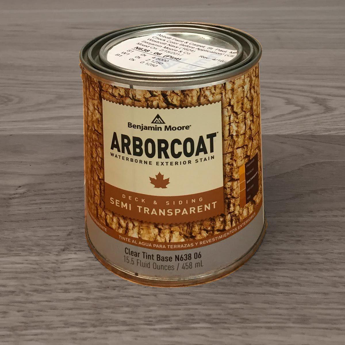 Benjamin Moore Arborcoat Semi-Transparent Stain