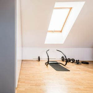 Attic Gym Gettyimages 1010647324
