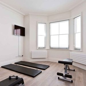 Use a Corner of Your Bedroom small workout room ideas, home gym ideas small space, small home gym ideas, home gym ideas basement