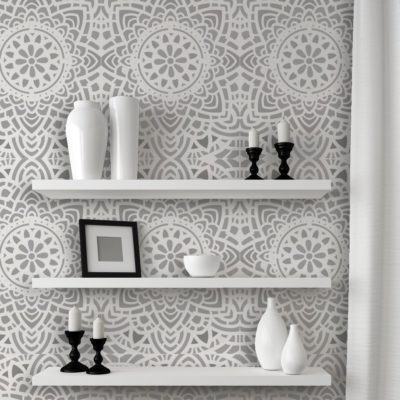 paint stencil how to make paint designs on walls