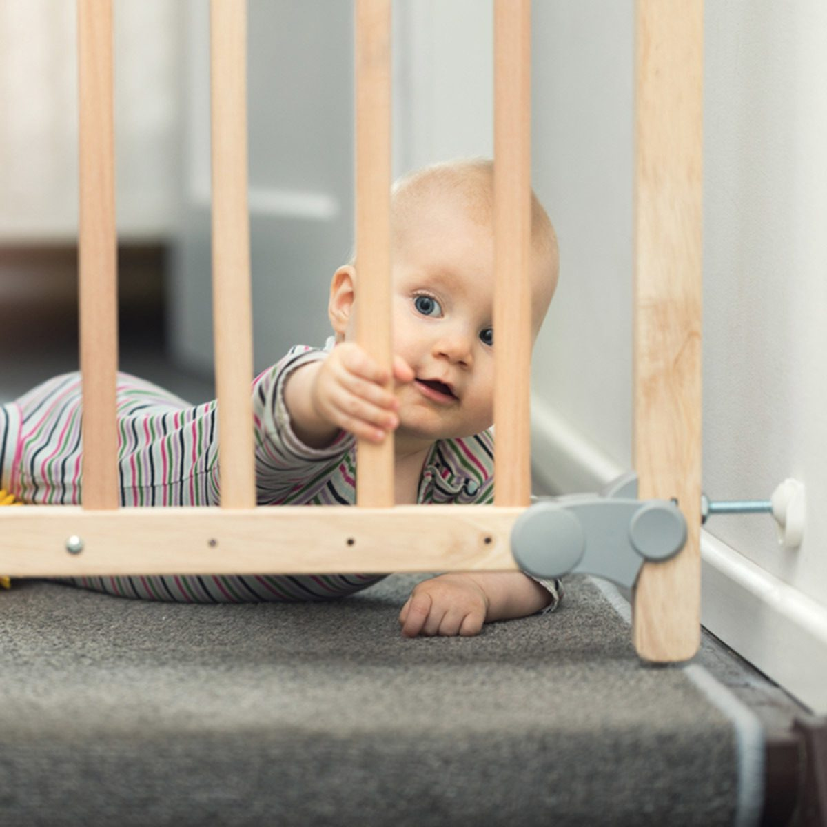 baby safety proof gate block staircase