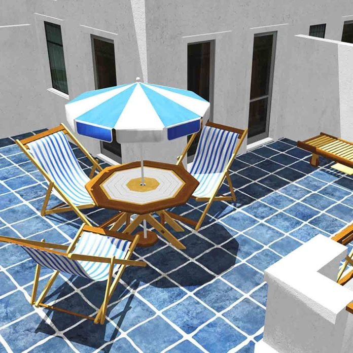 ceramic tile patio