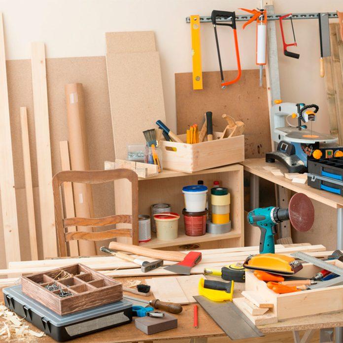 tools craft room