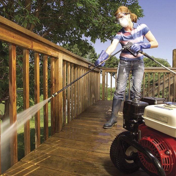 power wash deck powerwash