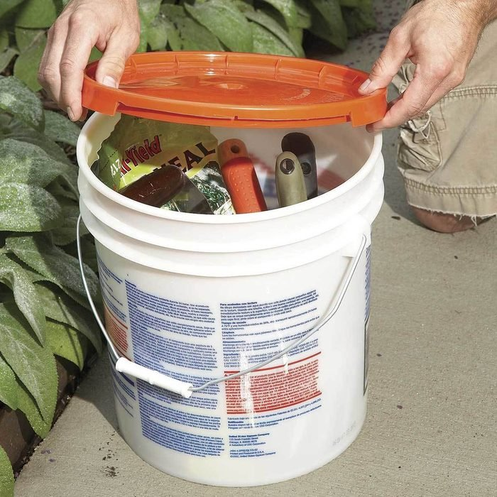 Handy Bench and Tool Bucket