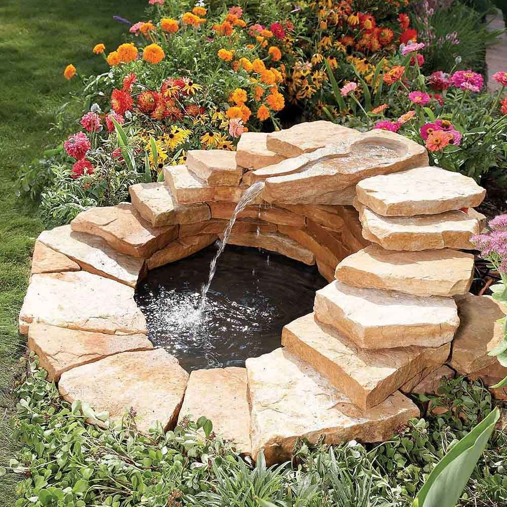 Pond Fountain And Waterfall Projects You Can Diy The
