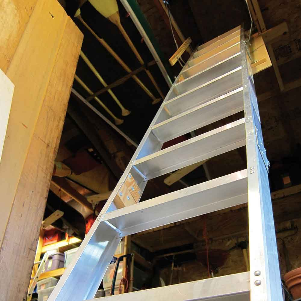 The simplest way to the attic