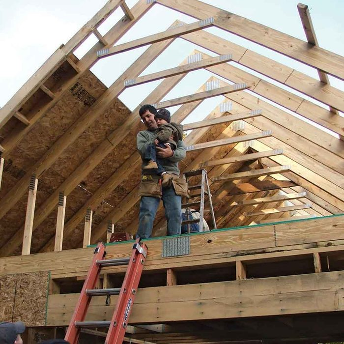 Attic trusses are pricey, but they add tons of space