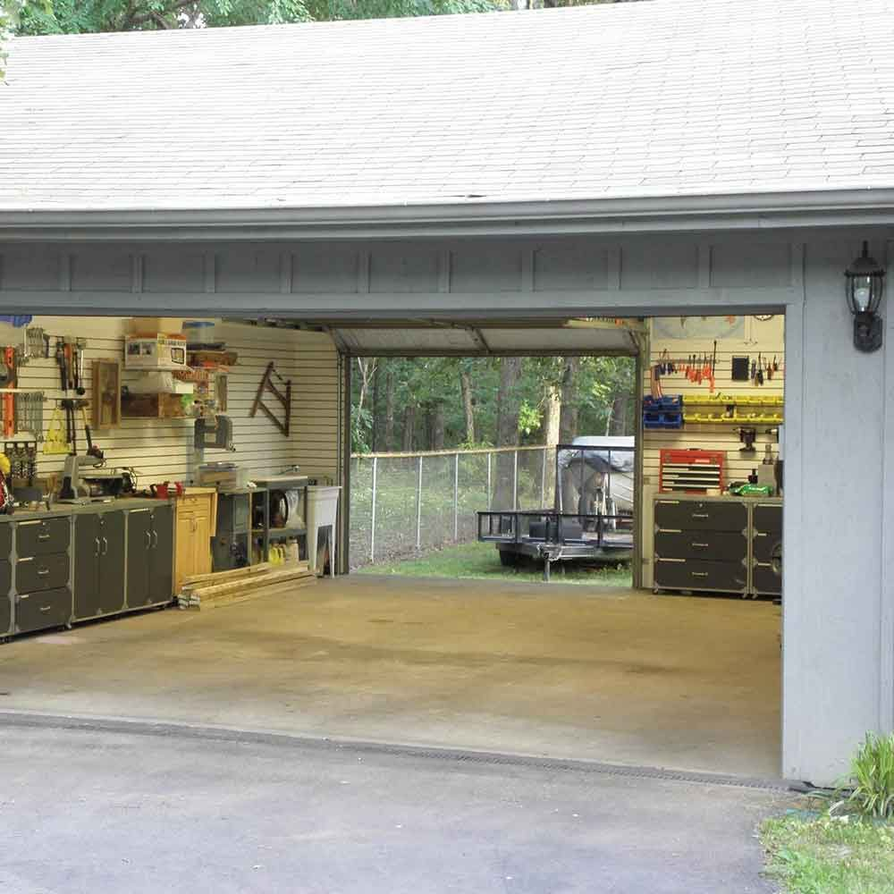 Make your garage a drive-through