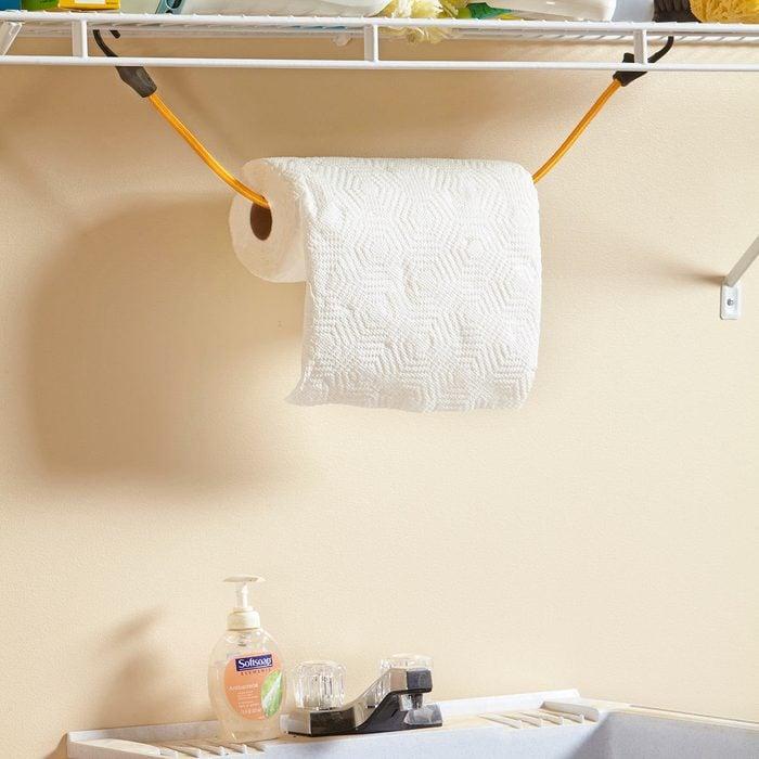 Under-Shelf Paper Towel Holder