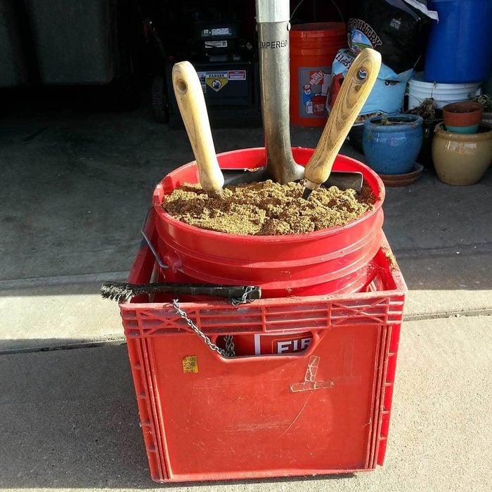 No More Rusty Garden Tools