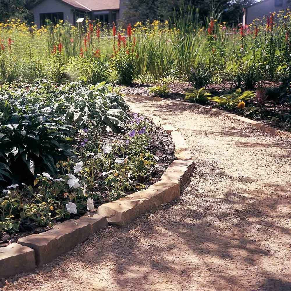 How to make a garden path with gravel - Affordable Garden Path Ideas