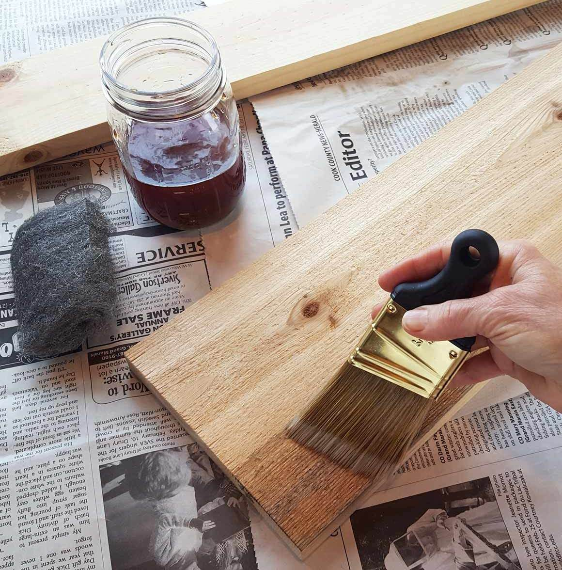 How To Age Wood The Family Handyman