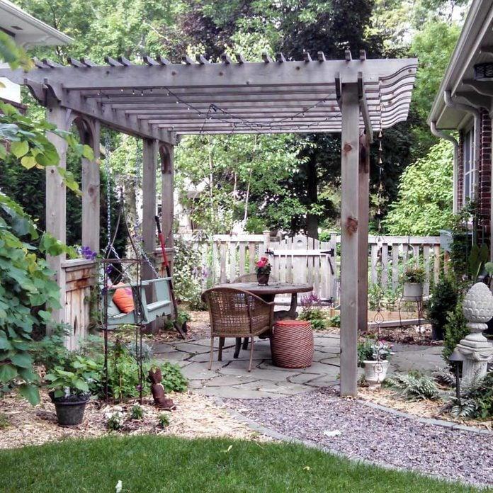 bluestone patio materials pergola