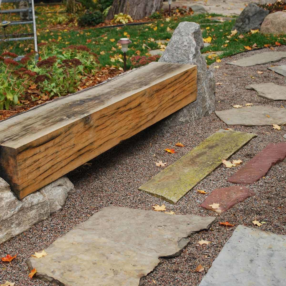 Charmant Flagstone And Pea Gravel Patio