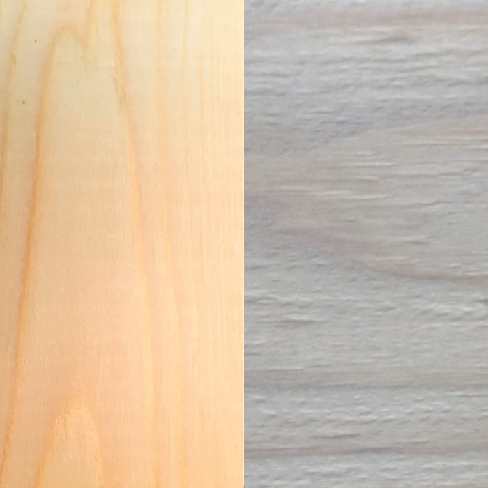 Before and after: Pioneer Wood on pine