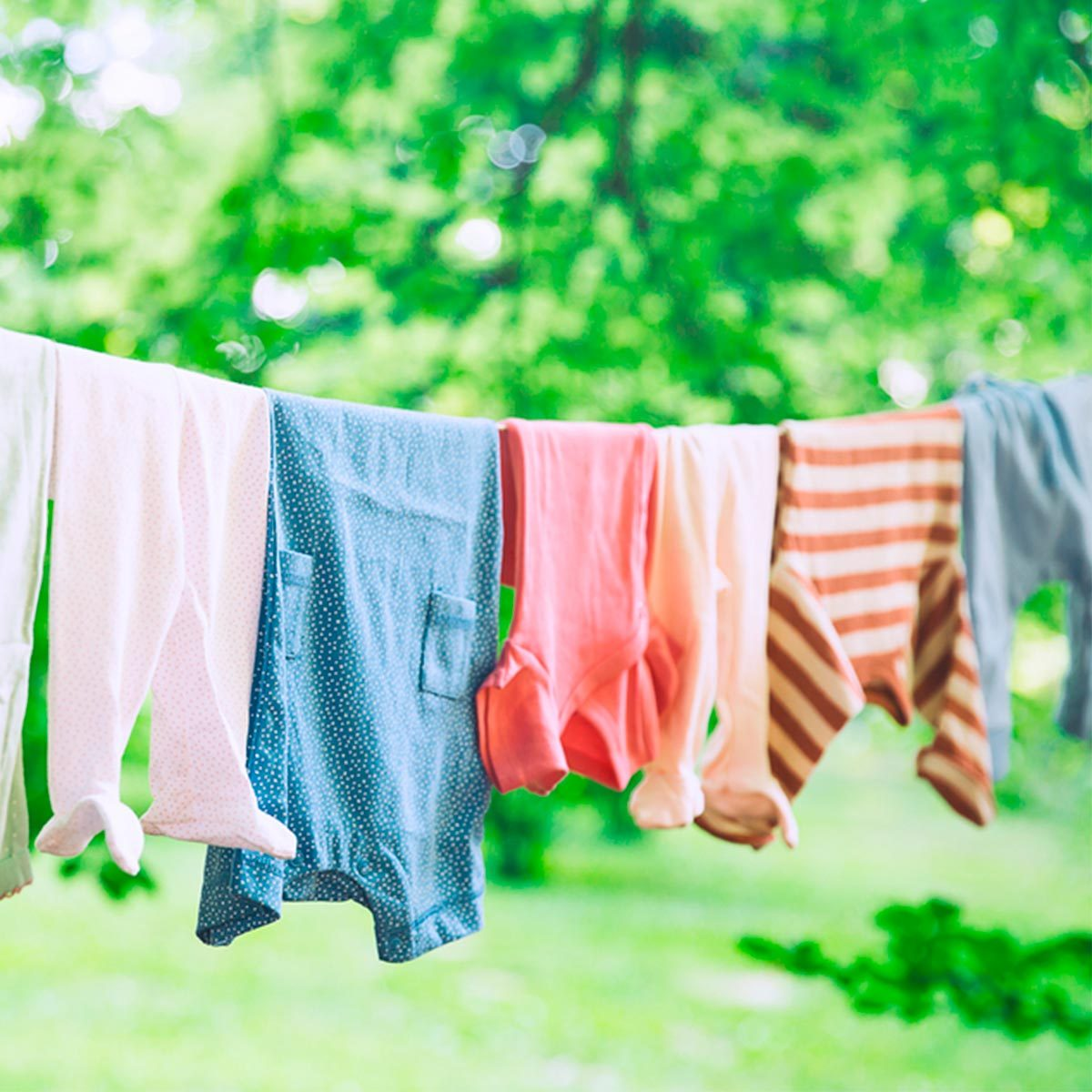 clothesline with floss