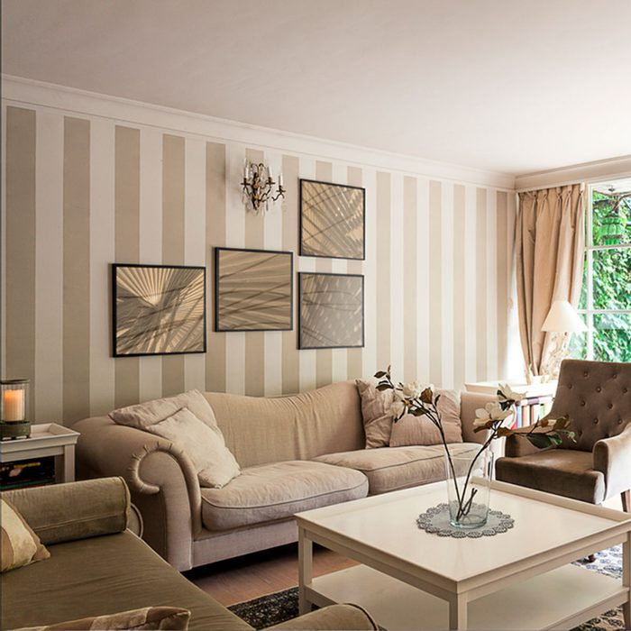 Small Room Ideas: Add Stripes