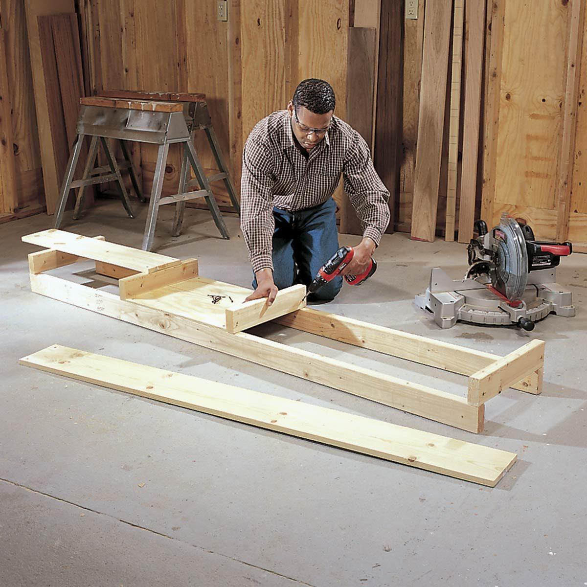 Make a Miter Saw Stand