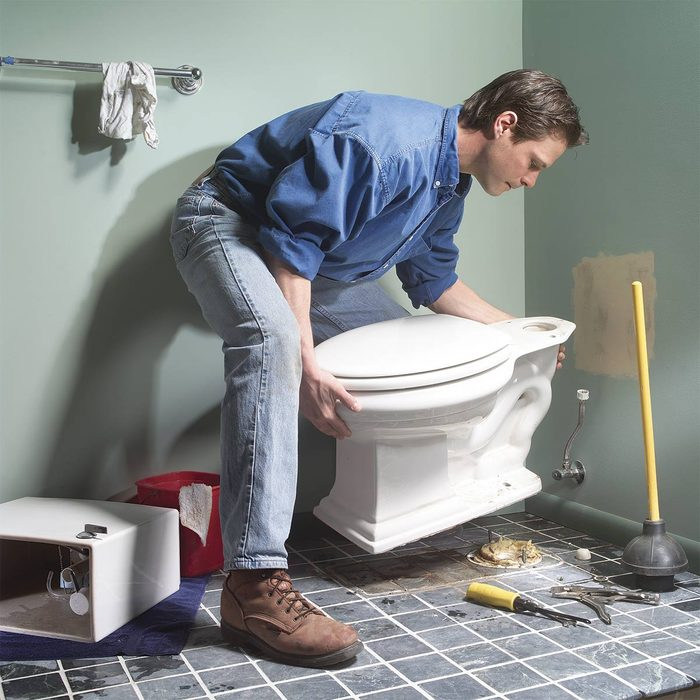 Take Out a Toilet