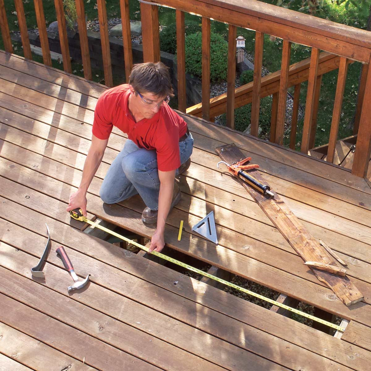 Repairing Decks And Railings The