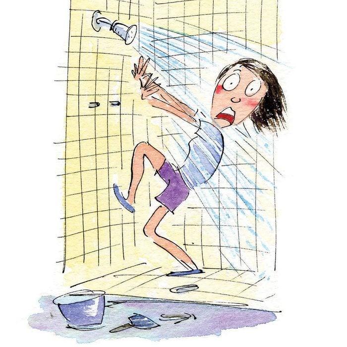 Unplanned Shower
